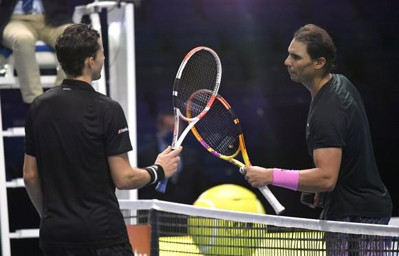 ATP Finals: Phản ứng của Thiem và Nadal sau kết quả mà Nadal từng lo sợ: để thua Thiem ảnh 1