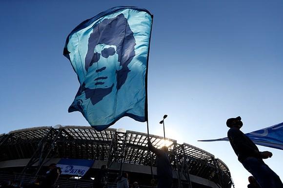 Thành Naples và CLB Napoli tiễn đưa Diego Maradona bằng sự kiện tưởng niệm đầy xúc động ảnh 4