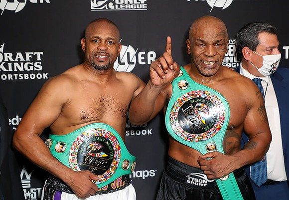 Roy Jones va2Mike Tyson