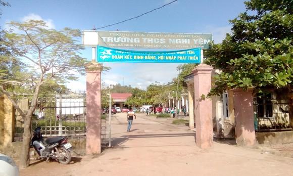 Trường THCS Nghi Yên, nơi kế toán Nguyễn Thị Thu từng làm việ