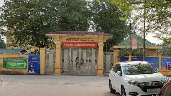 Trường Tiểu học Quang Trung, nơi xảy ra vụ việc