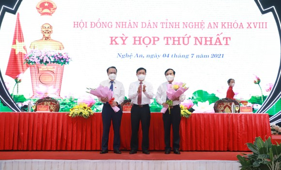Bí thư Tỉnh ủy Nghệ An Thái Thanh Quý được bầu giữ chức Chủ tịch HĐND tỉnh ảnh 1