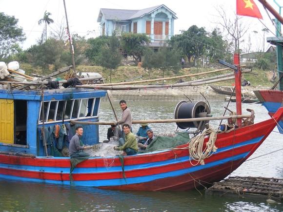 Thanh Hóa hỗ trợ máy dò cá giúp ngư dân vươn khơi ảnh 1