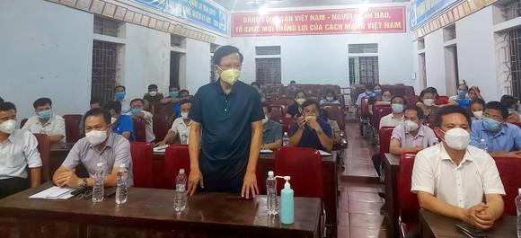 Nghệ An: Kỷ luật Chủ tịch xã vì lơ là trong công tác phòng, chống dịch Covid-19 ảnh 1