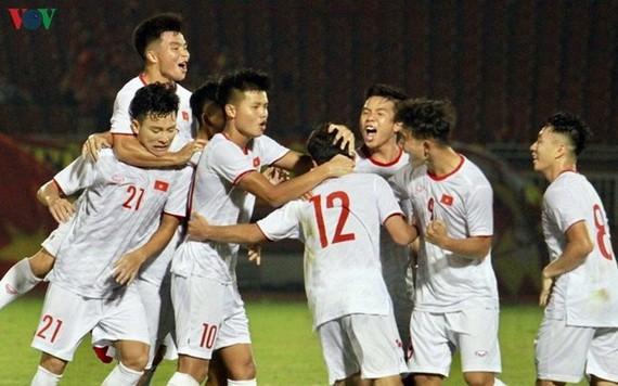 越南男足U19隊。
