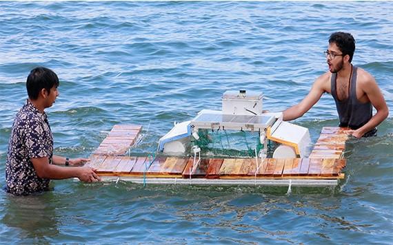 Clearbot的團隊已完成可處理更多海洋垃圾的機械船,目前正部署在香港應用。