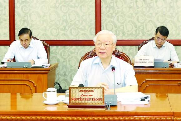 黨中央總書記阮富仲昨(10)日在河內市主持了與黨中央政治局召開的工作會議