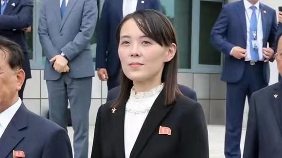 朝鮮國務委員會委員長金正恩胞妹、勞動黨副部長金與正