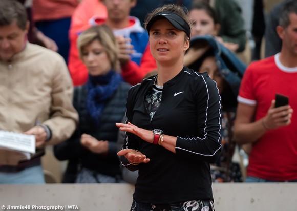 Roland Garros: Nụ cười của mỹ nhân Ukraine sau khi thắng tay vợt 7 lần vô địch Grand Slam ảnh 2