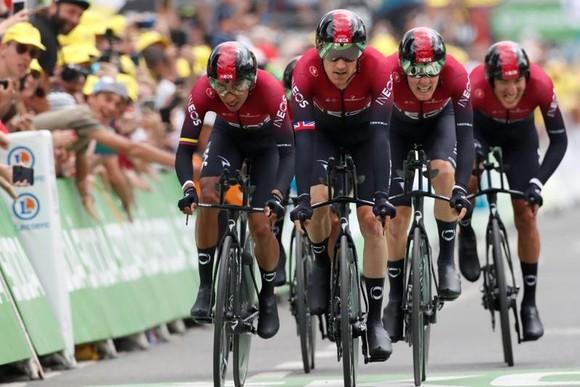 Tour de France: Ineos câm lặng, Jumbo-Visma thắng chặng đồng đội tính giờ ảnh 1