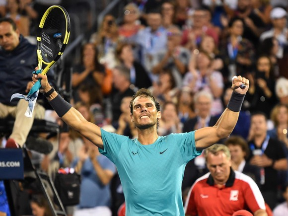 """Rogers Cup: Nadal """"giáo huấn"""" Medvedev, giành danh hiệu Masters 1.000 thứ 35 ảnh 1"""