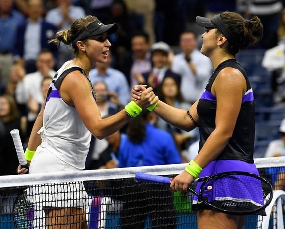 """US Open: """"Công chúa lọ lem"""" Andreescu đối đầu """"Cựu Nữ hoàng"""" Serena ở chung kết ảnh 3"""