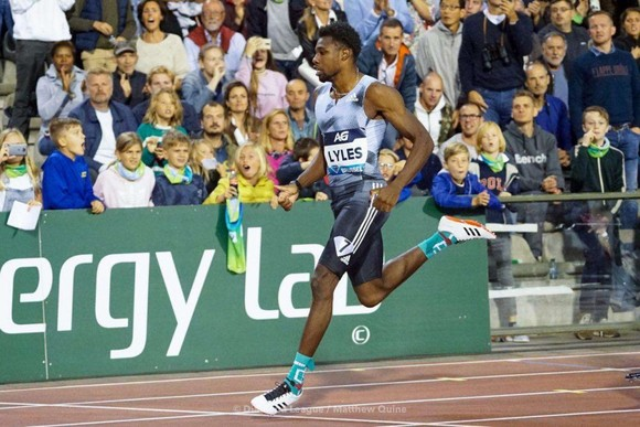 Noah Lyles được so sánh với Usain Bolt