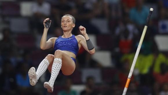 Giải điền kinh thế giới 2019: Không có cờ đại diện, các nữ VĐV Nga vẫn bay trên đỉnh cao ở Doha ảnh 3
