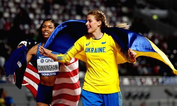 Giải điền kinh thế giới 2019: Không có cờ đại diện, các nữ VĐV Nga vẫn bay trên đỉnh cao ở Doha ảnh 2