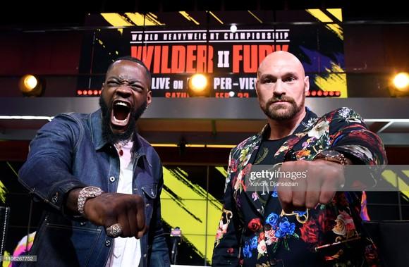 Wilder sẽ đấu Fury vào ngày 22 tới đây