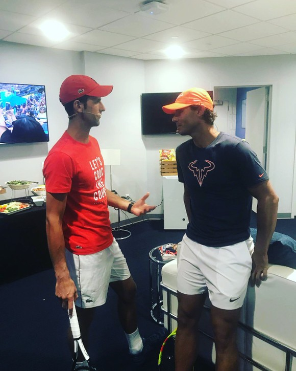 Rafael Nadal: Tập đánh bóng ở nhà thời Đại dịch Covid-19 ảnh 3
