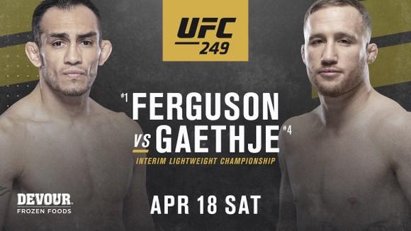 Ferguson sẽ đấu Gaethje ở UFC 249