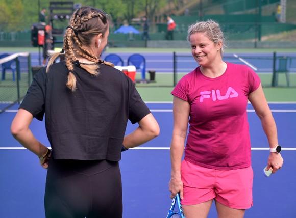 Kim Clijsters khát khao quay trở lại với quần vợt chuyên nghiệp lần thứ 2  ảnh 2