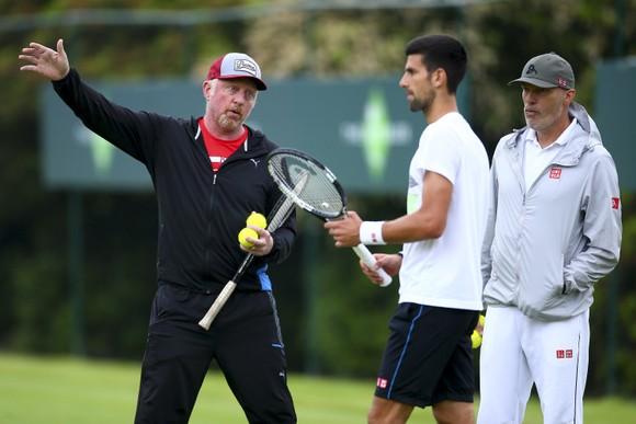 Becker từng gắn bó với Djokovic trong 3 năm