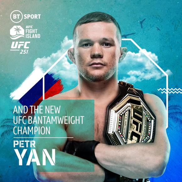 Petr Yan - tân vô địch hạng gà của UFC
