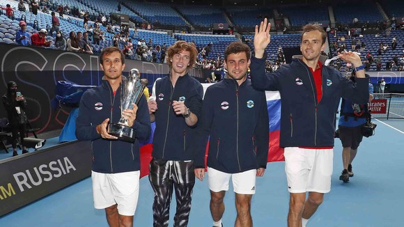 Tuyển Nga đăng quang ATP Cup 2021