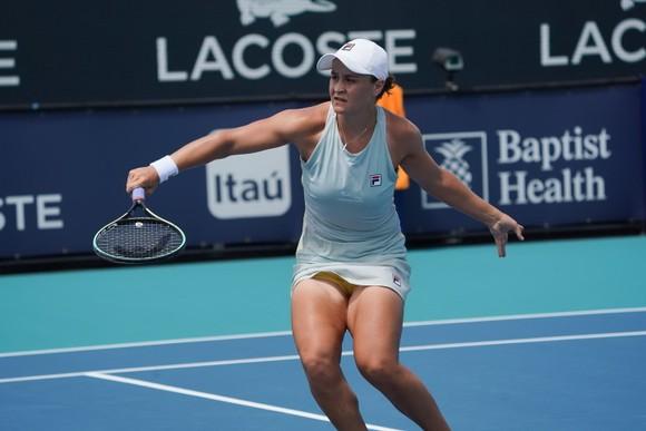 Barty muốn bảo vệ ngôi Nữ hoàng và danh hiệu Miami Open