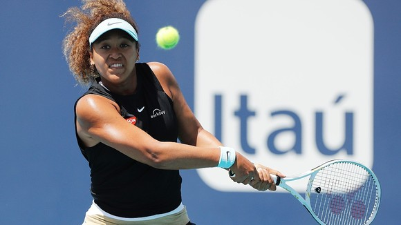 Miami Open: Sakkari loại Osaka, Bautista chặn đứng Medvedev ảnh 1