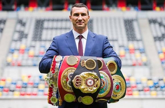 Wladimir Klitschko khi còn ở đỉnh cao quyền lực