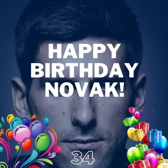 """Novak Djokovic: Được cả thế giới chúc mừng sinh nhật 34 tuổi, chuẩn bị tham gia giải """"Belgrade 2"""" ảnh 3"""