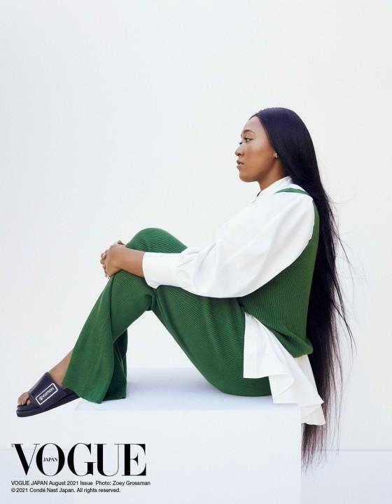 Naomi Osaka tái xuất trên truyền thông: Chỉ để làm người mẫu cho Tạp chí Vogue ảnh 2