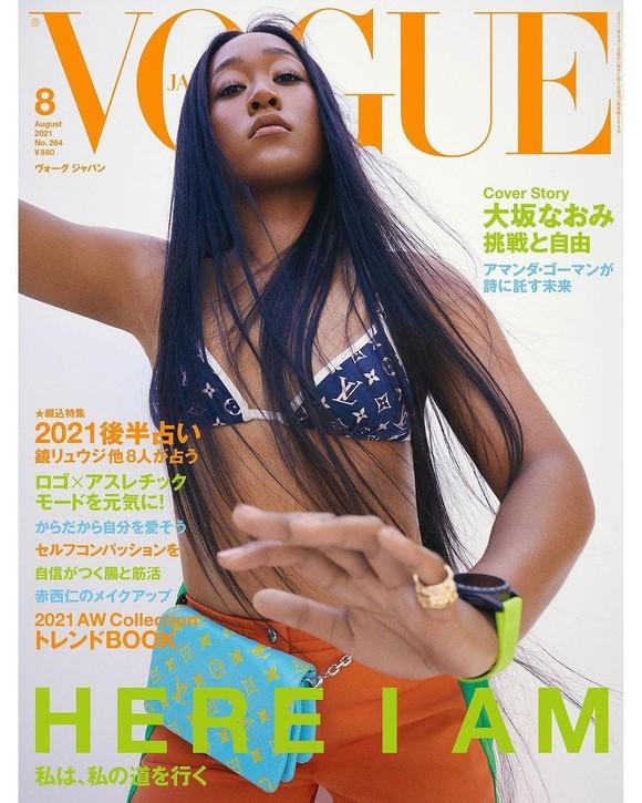 Osaka trên trang bìa của Vogue