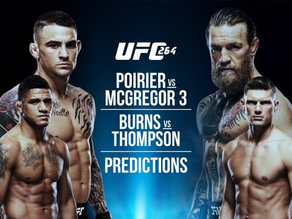 """UFC 264: Conor McGregor vs Dustin Poirier III - """"Gã điên Ailen"""" lại làm trò, với chân đá đối thủ ảnh 3"""