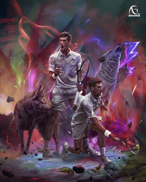 Djokovic có mối liên kết với... sói