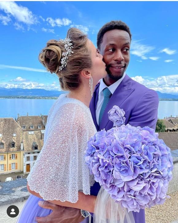 """Đám cưới dễ thương của """"Mỹ nhân Ukraine"""" Elina Svitolina và """"Sliderman"""" Gael Monfils ảnh 2"""