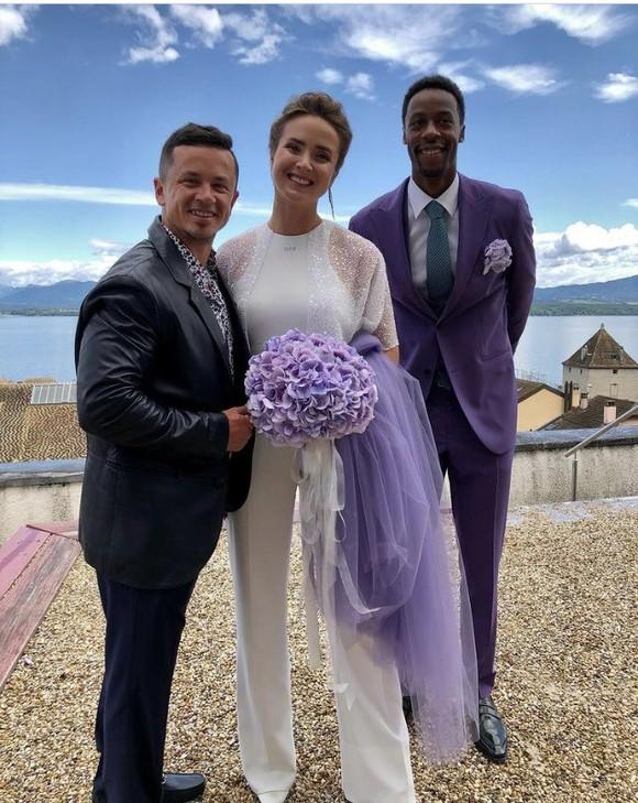 """Đám cưới dễ thương của """"Mỹ nhân Ukraine"""" Elina Svitolina và """"Sliderman"""" Gael Monfils ảnh 7"""