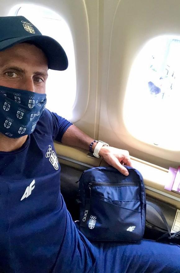 """Novak Djokovic đã đến Tokyo sẵn sàng cho """"Golden Slam"""", """"khắc tinh"""" Juan Martin del Potro vẫn theo dõi từ xa ảnh 1"""