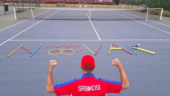 """Novak Djokovic đã đến Tokyo sẵn sàng cho """"Golden Slam"""", """"khắc tinh"""" Juan Martin del Potro vẫn theo dõi từ xa ảnh 3"""