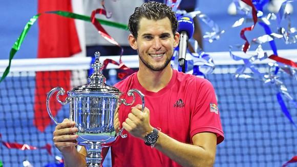 Hình ảnh Thiem vô địch US Open sớm trở thành quá khứ