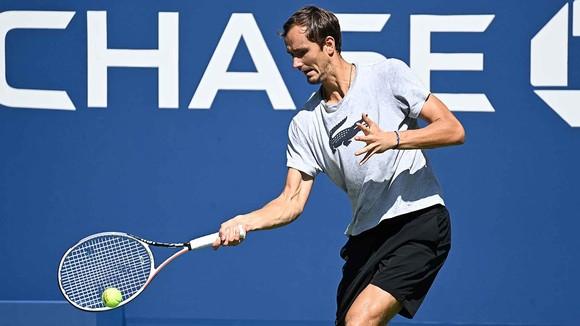 Medvedev tập luyện ở US Open