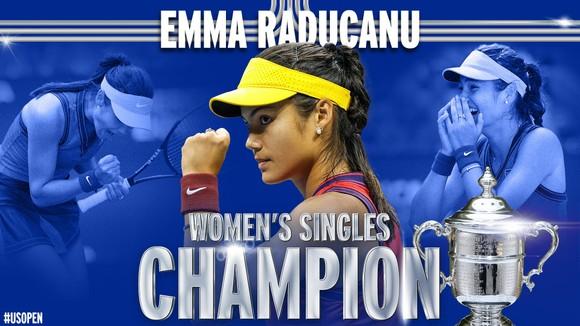 US Open: 'Quý cô' Emma Raducanu thắp lại ngọn lửa Anh sau 53 năm ở Grand Slam trên đất Mỹ ảnh 1