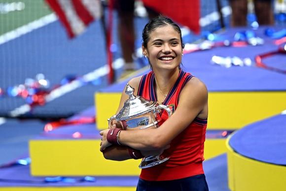 Raducanu vô địch đơn nữ US Open 2021