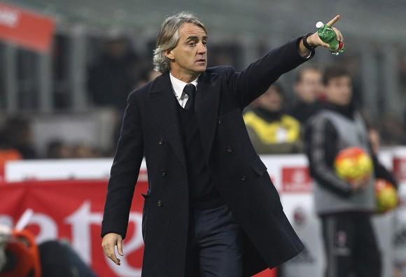 Mancini không thể dự đoán trận derby thành Milan ảnh 1