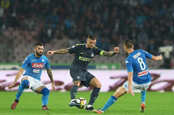 Nín thở dõi theo trận quyết chiến Napoli - Inter ảnh 1