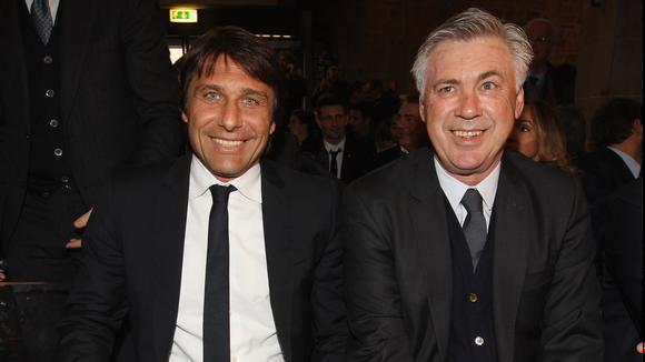 Antonio Conte và Carlo Ancelotti là ứng viên sáng giá cho ghế HLV tuyển Italia.