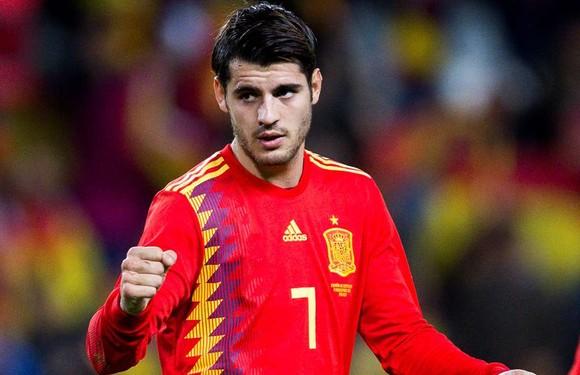 Alvaro Morata vẫn được HLV Enrique tin dùng