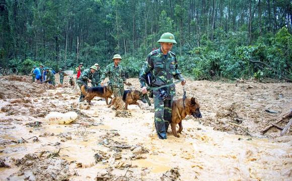 Toàn cảnh cuộc vượt rừng tìm kiếm, cứu nạn người mất tích ở Rào Trăng 3 ảnh 13