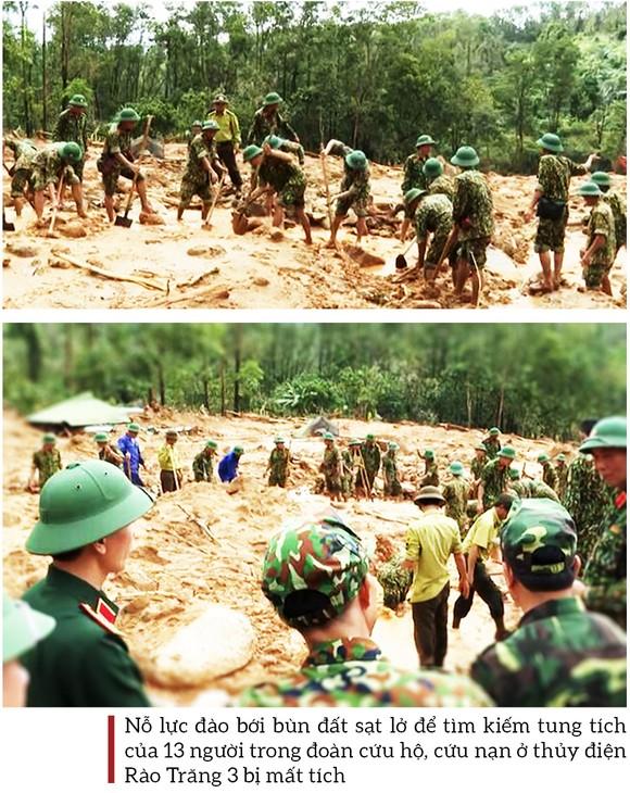 Toàn cảnh cuộc vượt rừng tìm kiếm, cứu nạn người mất tích ở Rào Trăng 3 ảnh 17