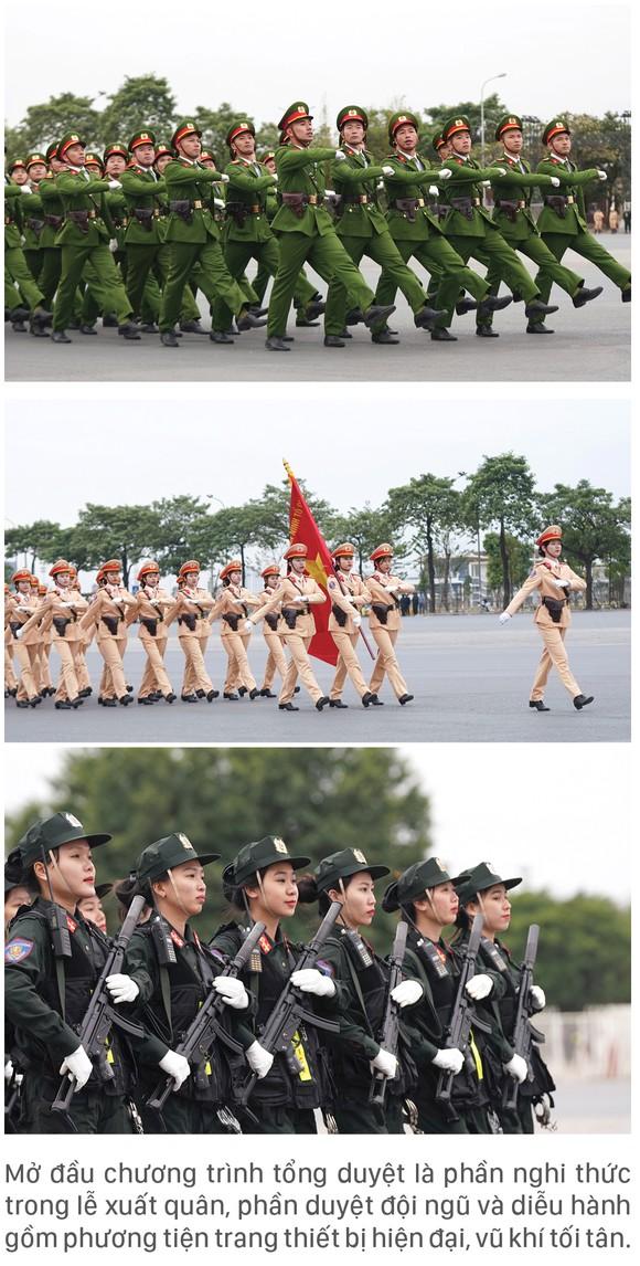 Các lực lượng tổng duyệt phương án bảo vệ Đại hội Đảng lần thứ XIII ảnh 3