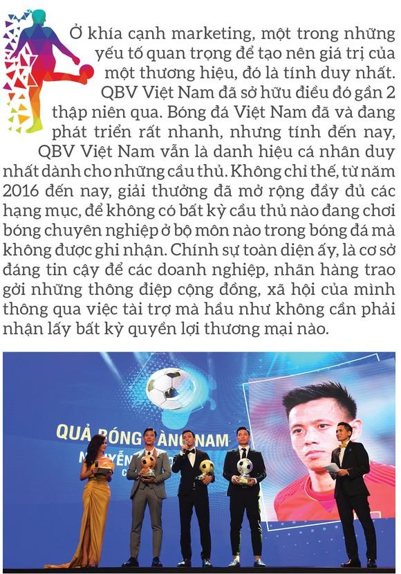 Quả bóng vàng Việt Nam 2020 - Thương hiệu và cảm xúc ảnh 4